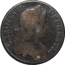1677 Charles II Silver Crown
