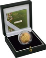 2003 £2 Two Pound Proof Gold Coin: DNA Double Helix Boxed
