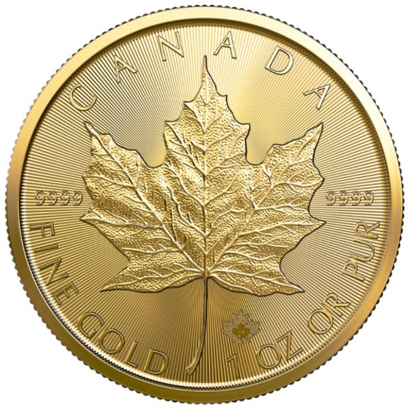 2021 1oz Canadian Maple Gold Coin