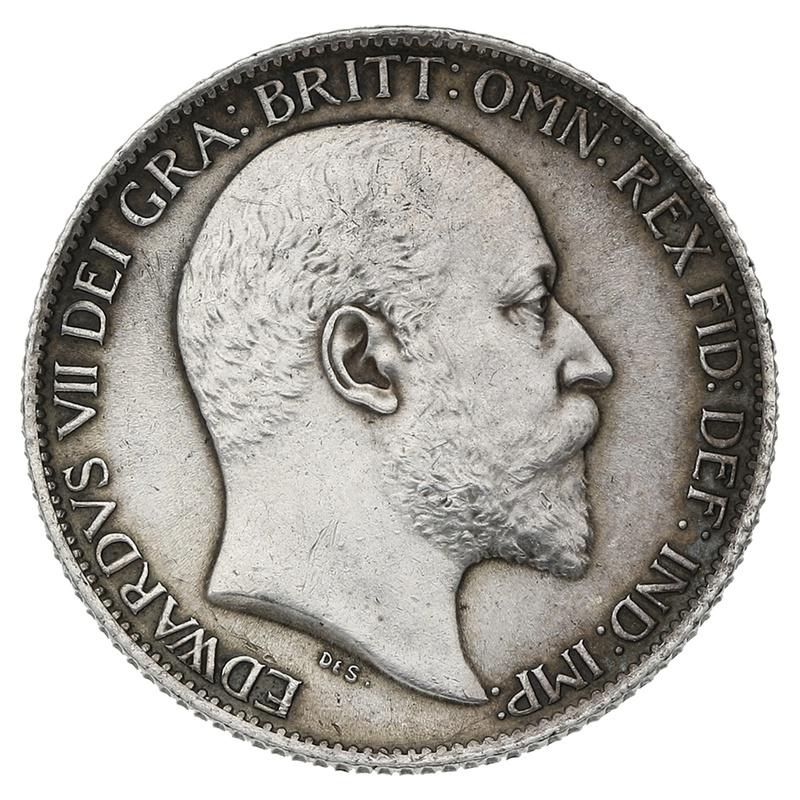1905 Edward VII Silver Sixpence