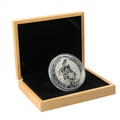 10oz Silver Coin, Black Bull of Clarence - Queen's Beast 2019 Gift Boxed