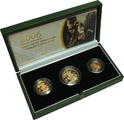 2006 Gold Proof Sovereign Three Coin Set Boxed