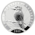 2009 1kg Kilo Silver Kookaburra Coin