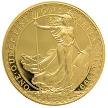 1999 One Ounce Proof Britannia Gold Coin
