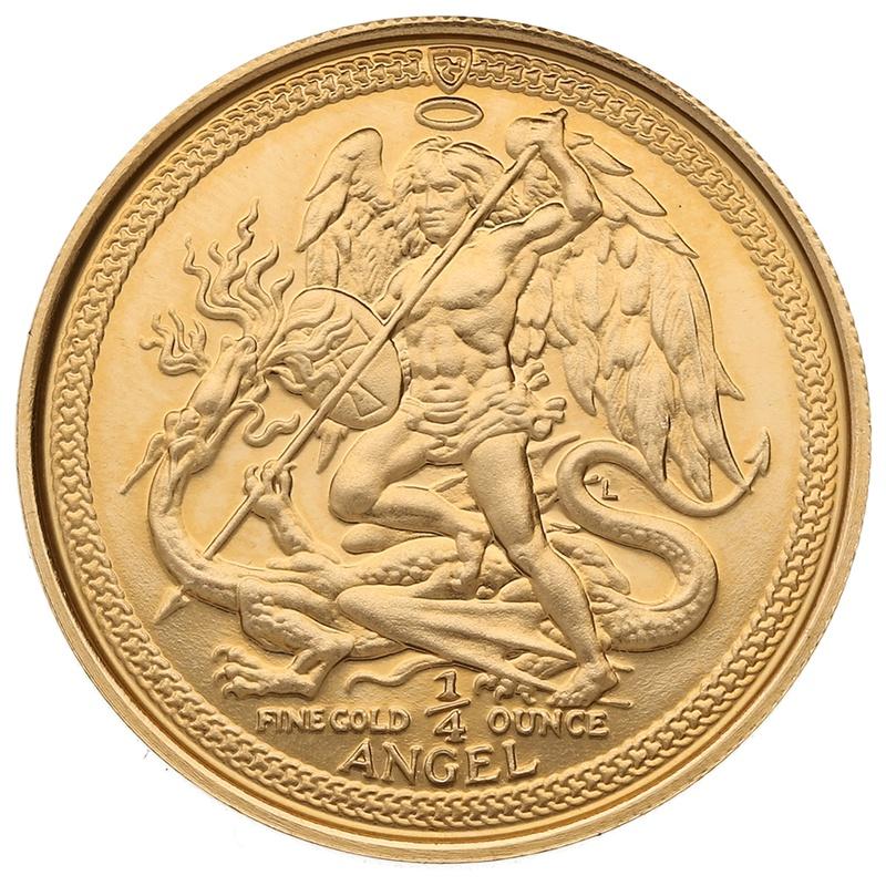 1986 Quarter Ounce 1/4oz Angel Gold Coin