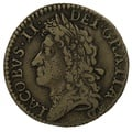 1689 December Irish James II Gunmoney Shilling