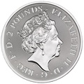 2020 Valiant One Ounce Silver Coin