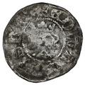 1307 - 27 Edward II Hammered Silver Halfpenny
