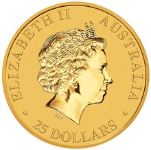 2018 Quarter Ounce Gold Australian Nugget