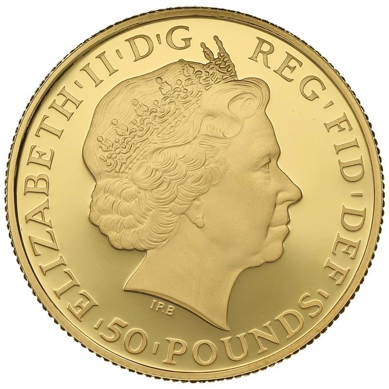2013 Half Ounce Proof Britannia Gold Coin
