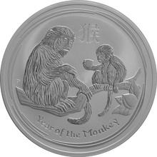 10oz Australian Lunar Year of the Monkey Silver Coin