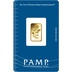 PAMP Rosa 2.5 Gram Gold Bar Minted