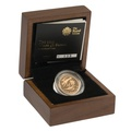 Gold Proof 2013 £1 One Pound Wales Floral Boxed