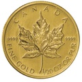 Twentieth Ounce Gold Canadian Maple