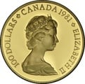 $100 Canadian Gold Proof Coin