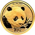 2018 1g Gold Chinese Panda Coin