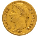 1813 20 French Francs - Napoleon (I) Laureate Head - A