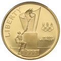 1996 Proof Atlanta Centennial Olympic - American Gold Commemorative $5
