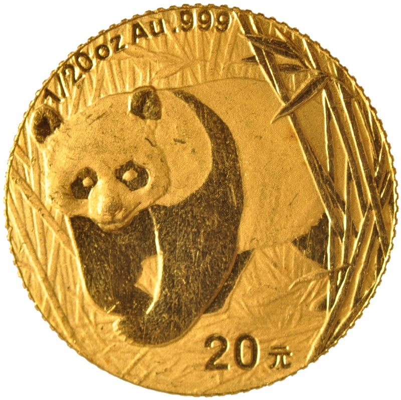 Twentieth Ounce Gold Chinese Panda Best Value