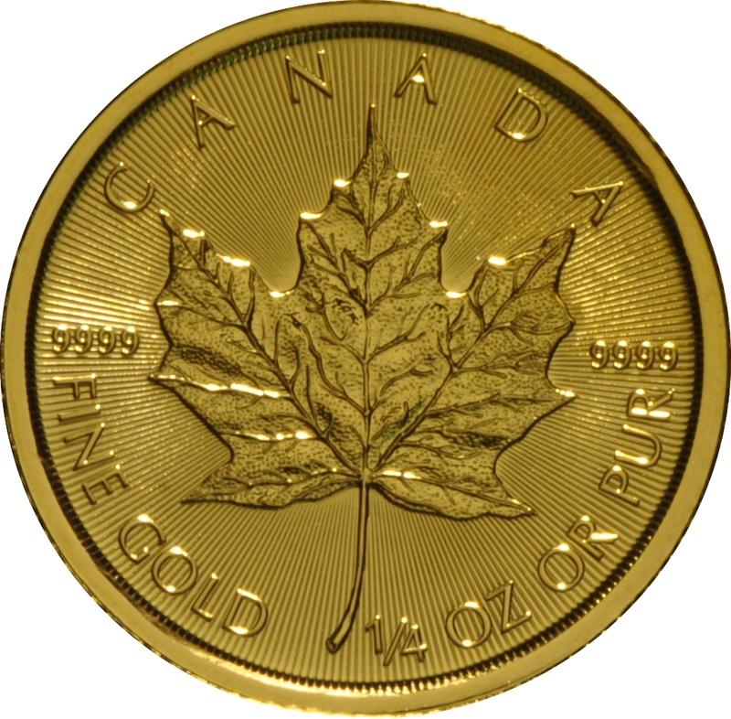 2018 Quarter Ounce Gold Maple