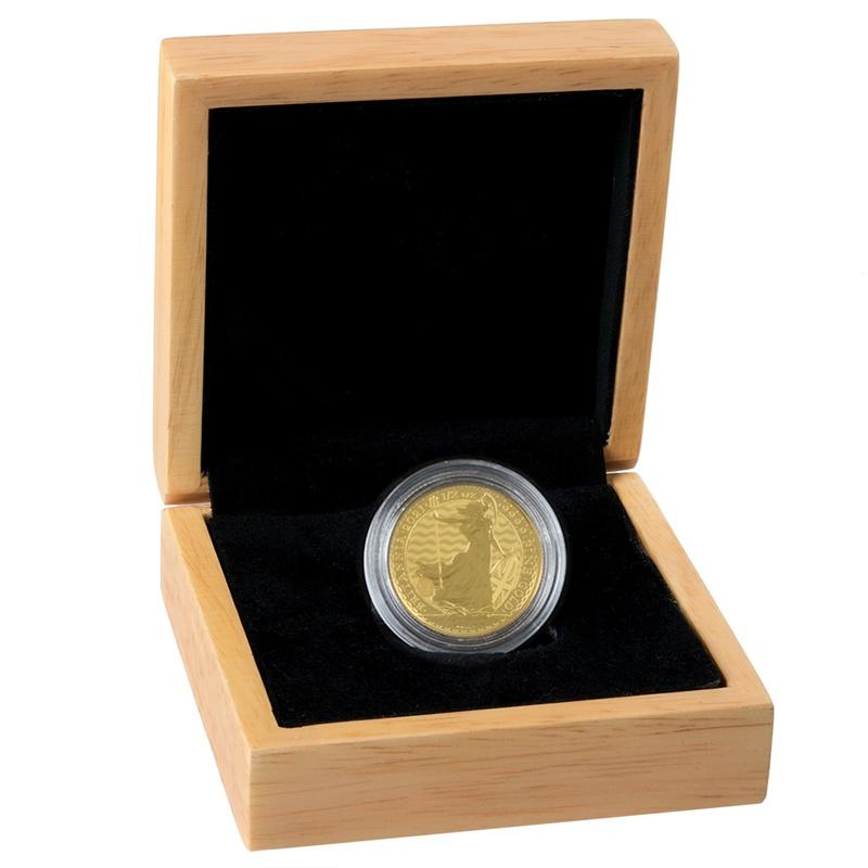 2021 Britannia Half Ounce Gold Coin Gift Boxed
