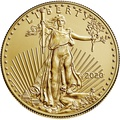 2020 1oz American Eagle Gold Coin