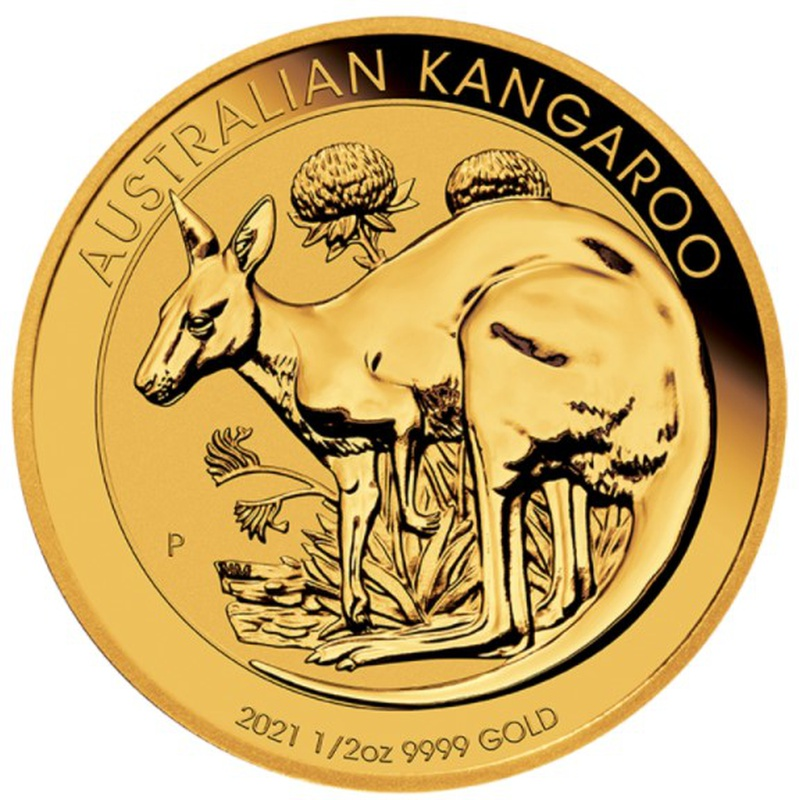 2021 Half Ounce Gold Australian Nugget