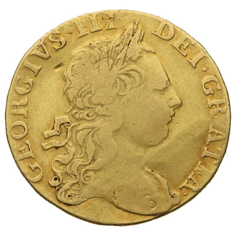 1769 Guinea Gold Coin