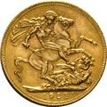 1925 Gold Sovereign - King George V - SA
