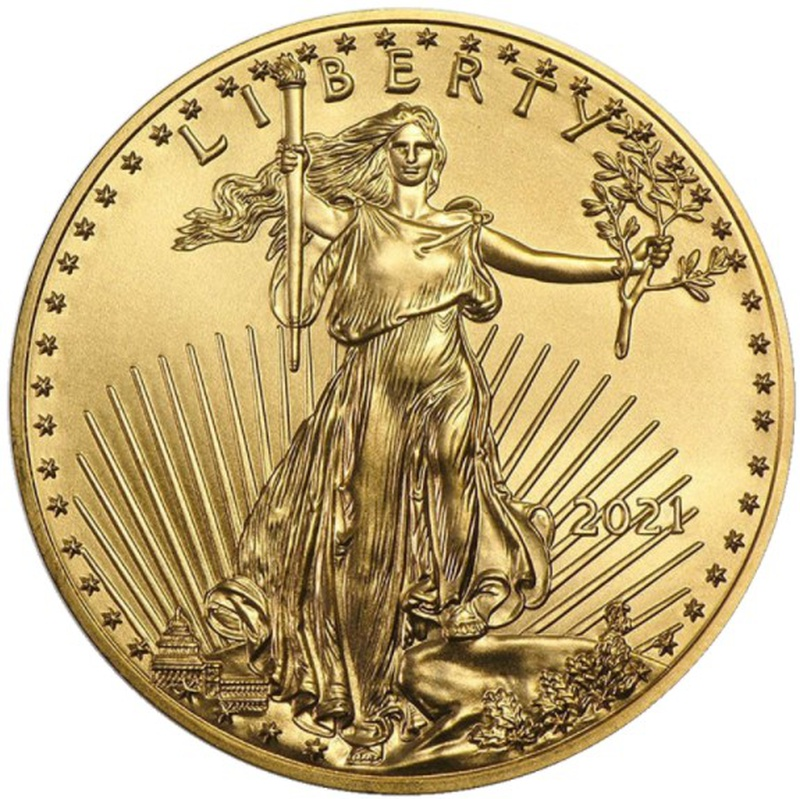 2021 Tenth Ounce American Eagle Gold Coin