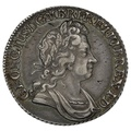1723 George the First Silver Shilling