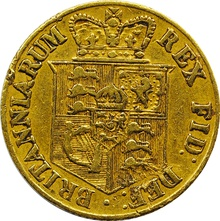 George III 1817 Half Sovereign