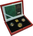 2001 Gold Proof Sovereign Three Coin Set Boxed