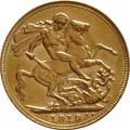 1919 Gold Sovereign - King George V - P