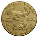 2001 Half Ounce Eagle Gold Coin