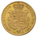 1852 Half Sovereign Victoria Young Head Shield Back - London