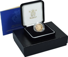 Gold Proof 2005 Sovereign Boxed
