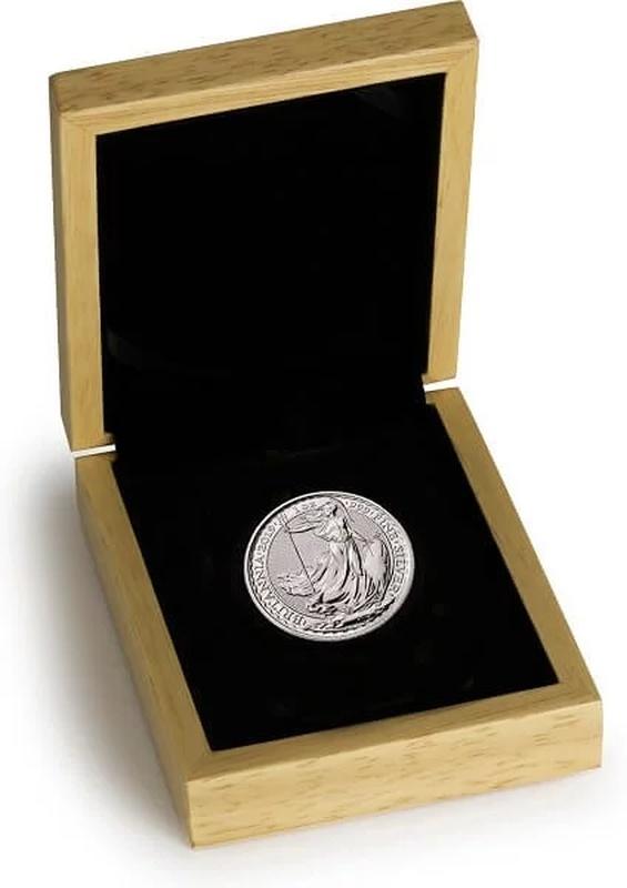 2020 1oz Silver Britannia in Gift Box