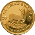 2001 Proof Quarter Ounce Gold Krugerrand