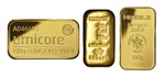100g Gold Bars (Pre Owned)