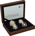 2012 Gold Proof Sovereign Four Coin Set Boxed