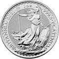 2021 1oz Platinum Britannia Coin