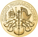 2021 1oz Austrian Gold Philharmonic Coin