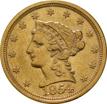 American Gold Quarter Eagle $2.50 Liberty Head