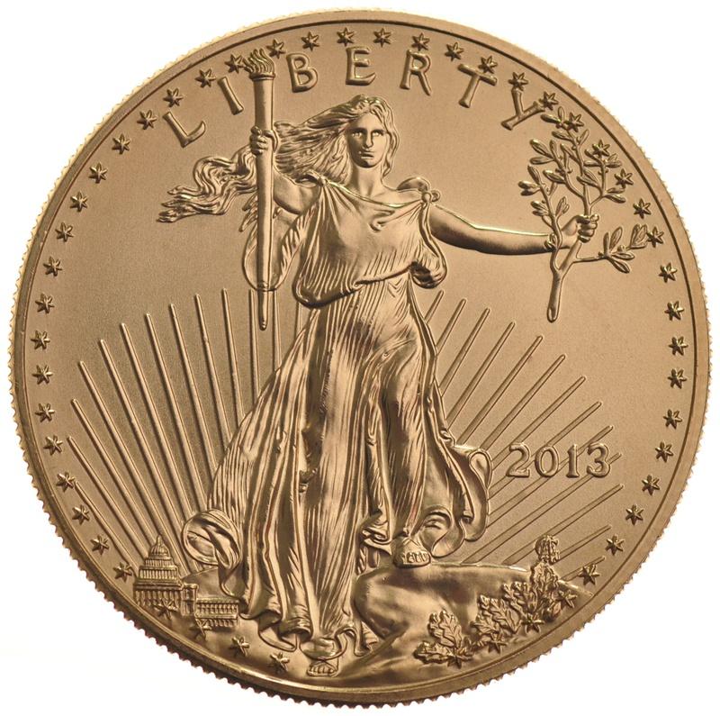 2013 1oz American Eagle Gold Coin