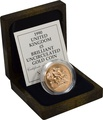 1990 - Gold £5 Brilliant Uncirculated Coin Boxed