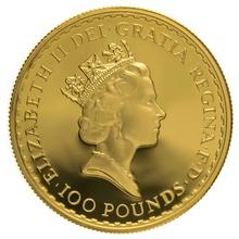 1993 One Ounce Proof Britannia Gold Coin