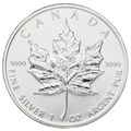 1997 1oz Canadian Maple Silver Coin