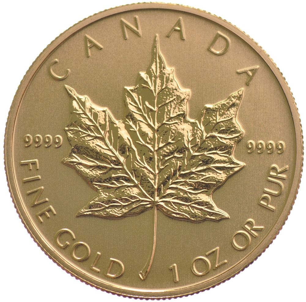 2011 One Ounce Canadian Gold Maple Leaf from Bullion by Post - From £1,472
