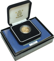 Gold Proof 2004 Sovereign Boxed